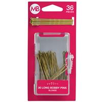 My Beauty Hair Large Bobby Pins 36 Pack Blonde
