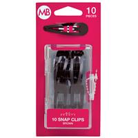My Beauty Hair One Touch Clip 10 Pack Brown