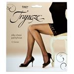 Trapeze Sheer Pantyhose Graphite Extra Tall