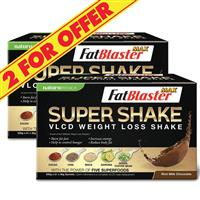 Naturopathica 2 For $60 FatBlaster VLCD SuperShake Chocolate 21 Sachets