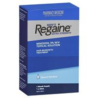 Regaine for Men Extra Strength (5%) 60ml (1 month supply)