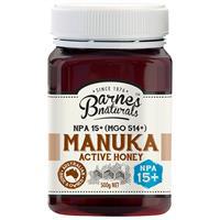 Barnes Naturals Manuka Honey 15+ 500g
