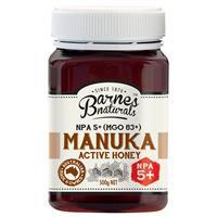 Barnes Naturals Manuka Honey 5+ 500g