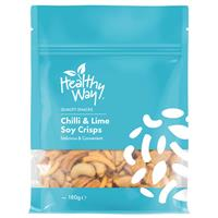 Healthy Way Chilli & Lime Soy Crisps 180g