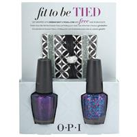 OPI Nail Enamel Fit Be To Be Tied Duo Set 1