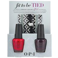 OPI Nail Enamel Fit Be To Be Tied Duo Set 2