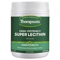 Thompson's High Potency Super Lecithin 200 Capsules