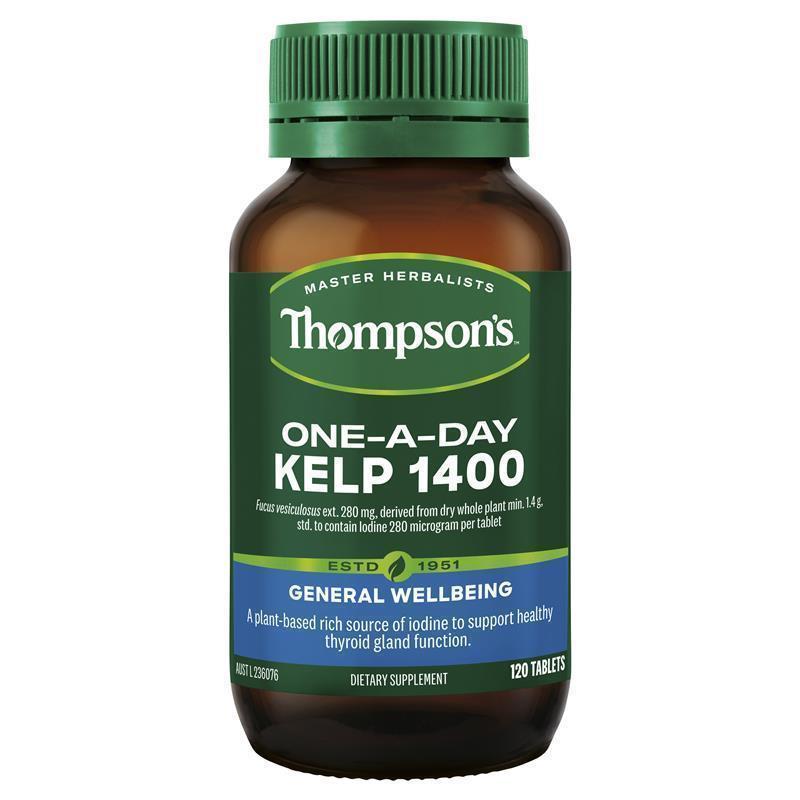 Thompson S Kelp 1400mg 120 Tablets My Chemist