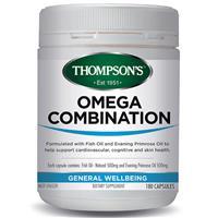 Thompson's Omega Combination 180 Capsules
