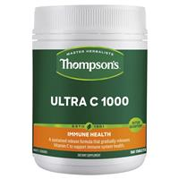 Thompson's Ultra C 1000mg 180 Tablets