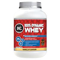 INC 100 Dynamic Whey Vanilla Flavour 2kg