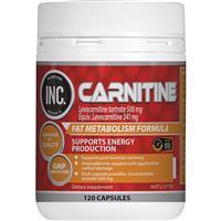 INC Carnitine 120 Capsules