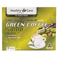 Healthy Care Green Coffee 18 Sachets