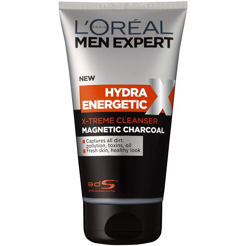 buy l 39 oreal men expert black foam magnetic charcoal wash 150ml online at chemist warehouse. Black Bedroom Furniture Sets. Home Design Ideas