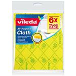 Vileda All Purpose Cloth 6 Pack
