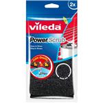 Vileda Power Scrub Scourer 2 Pack