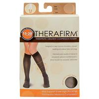 Oapl 68132 Therafirm Women Knee High Stocking Black Extra Large