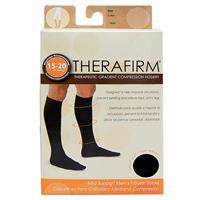 Oapl 68312 Therafirm Mens Trouser Socks Black Large