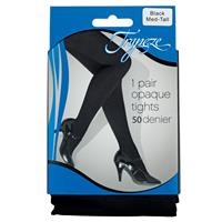 Trapeze Opaque Tights 50D Black Medium/Tall 1 Pack