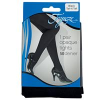 Trapeze Opaque Tights 50D Black Tall/XTall 1 Pack