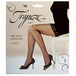 Trapeze Sheer Pantyhose Black Small/Medium