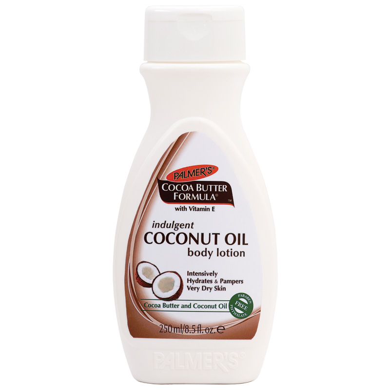 palmers cocoa butter coconut oil lotion 250ml chemist