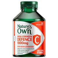 Nature's Own High Strength Defence C 1000mg 150 Tablets