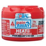 Pain Away Heat + Pain Relief Cream 70g