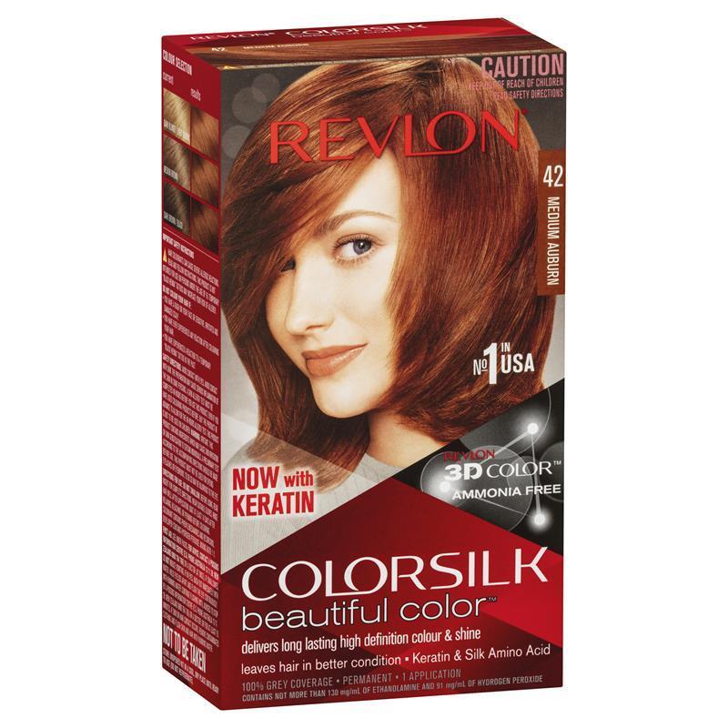 Revlon Colorsilk 42 Medium Auburn Epharmacy