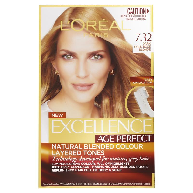 Buy L Oreal Excellence Age Perfect 7 32 Dark Gold Rose
