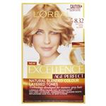 L'Oreal Paris Excellence Age Perfect Permananent Hair Colour - 8.32 Natural Rose Blonde (Natural Blended Colour)