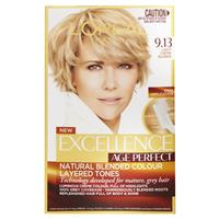 L'Oreal Paris Excellence Age Perfect Permananent Hair Colour - 9.13 Light Creme Blonde (Natural Blended Colour)