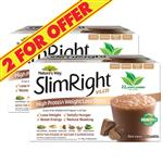 Nature's Way Slim Right VLCD Chocolate 21 x 35g - 2 For $55