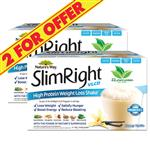 Nature's Way Slim Right VLCD Vanilla 21 x 35g - 2 For $55