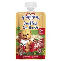 Farex Breakfast On The Go Baby Porridge 6 months+ 120g Pouch
