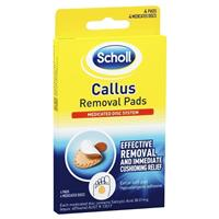 Scholl Callus Removal Pads
