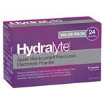 Hydralyte Apple Blackcurrant Sachets 4.9g x 24