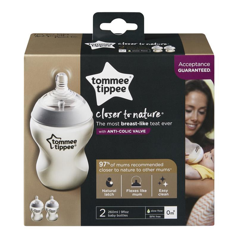 Tommee Tippee Closer To Nature Bottles Ml  Pack