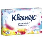 Kleenex Facial Tissue Soft Pack White 60 Pack