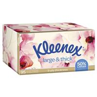 Kleenex Facial Tissues 95 Large and Thick