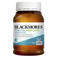 Blackmores Odourless Fish Oil 400 Mini Capsules