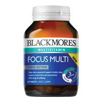 Blackmores Energy Focus Multi 60 Tablets