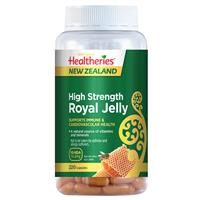 Healtheries High Strength Royal Jelly 220 Capsules