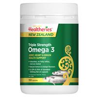 Healtheries Triple Strength Omega 3 150 Capsules