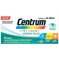 Centrum Specialist Vision 60 Tablets