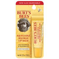 Burts Bees Lip Balm Squeezable Beeswax 9.92g