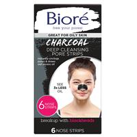 Biore Charcoal Deep Cleaning Pore Strips 6