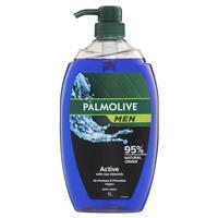 Palmolive Mens Shower Gel Active 1 Litre