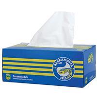 NRL Tissue Box 2Ply Parramatta Eels 200