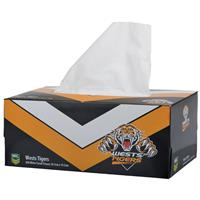 NRL Tissue Box 2Ply Wests Tigers 200